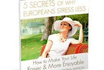 Coach Kristina & Lifestyle: / Learn the tips and get inspired about living a Healthy, Stress free, European - inspired Lifestyle.