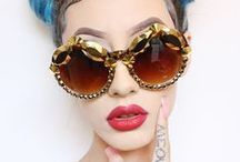 Sunglasses addiction / Everything sunglasses for all serial chillers everywhere! cateye sunnies retro frame fashion summer style outfit beauty trim retro vintage funky
