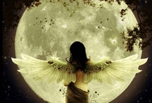 Bella LuNa / Fly me to the moon,  And let me play among the stars.  Let me see what spring is like on Jupiter and Mars.  In other words, hold my hand!  In other words, darling, kiss me. / by Anita Fierro