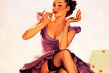 Pin Up Wonder / The best of pin ups: hair, outfits, art, illustrations, makeup. Great photography with the right attitude! Lots of Gil Elvgren!