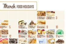 Foodies LOVE March / Recipes for all of the holidays in March!