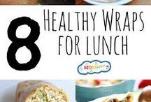 Lunch Ideas / Yummy lunch recipes & ideas