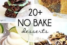 Desserts & Sweets / Chocolate, cheesecake, cupcakes, panna cotta, custard, ice cream, and so much more!