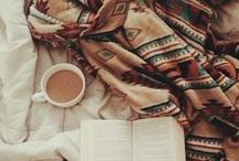 Winter Reads / It's cold outside, so cozy up to a book.