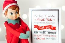 Elf on the Shelf / Elf on the Shelf! Creative and unique ideas to add to your new favorite holiday tradition! Your kids will LOVE the magic of Christmas that the Elf brings!