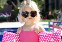 Swimsuits and Summer Styles / Swimsuits for all the fashionista and dapper little ladies and gents!