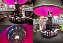 ANN SUMMERS / This project was recently nominated for the highly acclaimed 'Most Outstanding Feature/Prop Award' and 'Best Instore Branding Award' at the VM & Display Awards 2012. The rebranding has seen an overhaul of its product, packaging and marketing as well as a new store concept unveiled this week in its Westfield Stratford City.