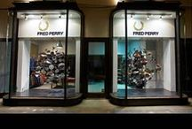 FRED PERRY / Prop Studios has had the pleasure to work with Fred Perry on a number of projects including window displays and in-store visual merchandising.