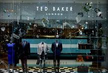 TED BAKER / Prop Studios has had the pleasure to work with Ted Baker on a number of projects including window displays and in-store visual merchandising in both the UK & UAE.
