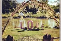 Wedding - Bespoke Events / The team at Prop Studios were delighted to have been asked to help with the design of a vintage themed summer wedding.  We provided the decorative lighting and vintage lamps in the tent, hand-painted the signs, installed stylish props including giant letters and a fancy-dress birdcage and ensured beautiful flowers were placed all around the venue.  See more at http://goo.gl/YyrNmY. If you would like us to help with your special day email: info@propstudios.co.uk