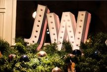 JACK WILLS / Prop Studios were delighted to create the Christmas in-store visual merchandising across the Jack Wills stores in London.