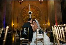 Hall of State Wedding / Weddings at the Texas Hall of State in Dallas, TX at the Fair Park. #texashallofstate #hallofstate #weddingphotography  Wedding photography by Dallas wedding photographer Monica Salazar.