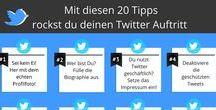 Alles zum Thema Twitter / Interessante News, Tipps und Tricks für das Twitter Marketing