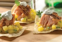 Sea Starters / Get your crew started with some delicious appetizers! Try some seafood starters from the Gorton's Galley and get your party started! http://bit.ly/GortonsApps / by Gorton's Seafood