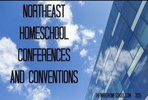 Northeast Homeschool Conventions / A list of homeschooling conventions in the northeast / by John Wilkerson