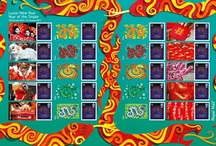 Chinese New Year / Stamps issued to celebrate Chinese New Year.