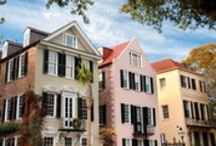 Charleston, South Carolina / From preserved cobblestone streets and the stately columns of antebellum mansions to Spanish moss hanging from ancient oak trees and courtyards fragrant with jasmine, Charleston offers the true beauty and grace of the Old South. / by Inspirato with American Express