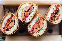 Sandwiches, Crostini + Burgers