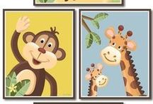 Safari Jungle Birthday / Baby Shower Party Ideas