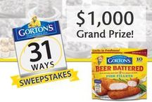 Gorton's 31 Ways! / October is National Seafood Month and Gorton's wants to celebrate with you and your family! Tell us how YOU incorporate Gorton's Seafood into your family's meal time on any given day in October! #Gortons31Ways  http://gortons.com/special-offers/promotions / by Gorton's Seafood