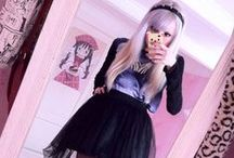 ~Pastel Goth Outfits~