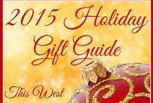 2015 Holiday Gift Guide / This is where you'll find some of my suggestions for fun, practical, and eco-friendly gift ideas for the special people in your life. I'll be adding reviews and lots of giveaways as we go, so follow along and I bet you'll find the perfect gift here.