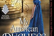 My American Duchess / The arrogant Duke of Trent intends to marry a well-bred Englishwoman. The last woman he would ever consider marrying is the adventuresome Merry Pelford— an American heiress who has infamously jilted two fiancés. Welcome to the world of Merry and Trent from MY AMERICAN DUCHESS.