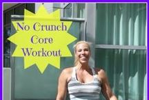 Core Training and Flat Belly / Here are some of my favorite ways to strengthen the core and flatten that belly. Find out ways you can start Living Fit Now.