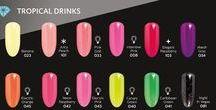 Semilac Tropical Drinks / Άριστης ποιότητας, υψηλής κάλυψης & μακράς διάρκειας ημιμόνιμα βερνίκια σε περισσότερες από 140 αποχρώσεις!