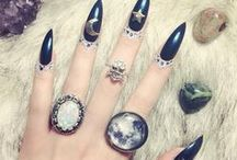 Makeup and nails / Fun and pretty nail designs, interesting make up tips and art / by Hillary Tyson