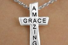 Christian Jewelry / Proudly display your love for God with any of our amazing Christian jewelry.  We have a wide variety of Christian jewelry to choose from!  www.peacebewithu.com.