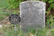 Civil War Tombstones / by Vicki Willis-Scribner