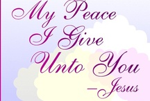 Peace Be With U Blog / We enjoy sharing and spreading the Gospel to our fellow brothers and sisters. We also enjoy reading positive comments from others about our wonderful Father, God! Visit our blog at http://www.peacebewithu.org and join us in our fellowship to share in God's Word!!!