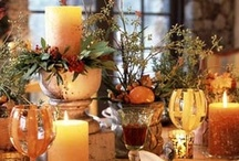 Beautiful tablesettings and bouquets / by Stephanie Stewart-Knepple