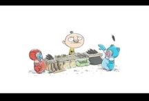 Tatu and Patu Take It Outside interactive children's storybook / https://itunes.apple.com/app/tatu-ja-patu-pihalla/id584802848