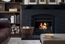 Fireplaces + Mantels