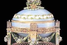 Antiquities: Faberge Eggs / by Stephanie Stewart-Knepple