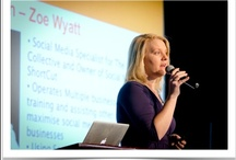 Social Media Speaker Zoe Wyatt / Zoe Wyatt is a Social Media Marketing Specialist, Speaker, Trainer, Manager and Global Internet Entrepreneur. Zoe is available to speak at events and trainings throughout Australia, USA, Europe and around the World.