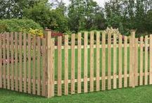 Wood Fencing / What's your wood fence style? Here are some examples to help you decide.