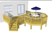 Deck Plans / Building a deck? These plans might help stem and idea or two.
