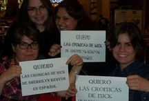 CON in Spanish / Our wonderful Spanish Menyons have started a petition to get CON into their hands ASAP. Muchas gracias!