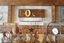Country stores / Starting up a specialty food with repurposed items shop. Ideas and images  / by Christine MacGregor