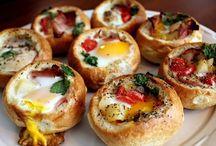 Breakfast / Egg casseroles , coffee cake, oatmeal, etc.