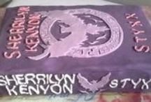 Sherrilyn Kenyon Fan Cakes / Thanks to all the SK fans who honor the books. We love you!!