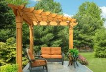 Plenty of Pergolas / They come in all sizes, shapes and styles.