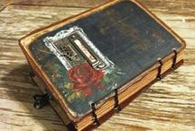 Journal Books and Altered Things. / by Connie Eads