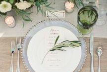 Tabletop Inspiration / Please take a seat, the decor is pretty sweet.