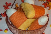 Candy Corn This and Candy Corn That! Candy Corn Treats and Crafts. / I love everything about the fall season! The changing color of the leaves, the autumn rust colors of pumpkins, and especially, anything handmade Candy Corn brings a welcome of the Harvest season. Enjoy! / by Love To Sew Studio