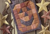 Halloween, Autumn, and Fall Quilting / I love the colors that the Fall Season brings us each year! What better way to welcome the cool nights than a comforting Autumn quilt! / by Love To Sew Studio