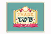 We Love Nurses! / Whether you are a student nurse or already have a career in nursing, we are inspired by the love and care shown by extraordinary nurses around the world!